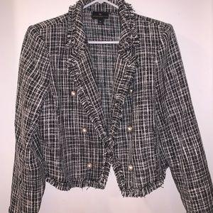Tweed and pearls worthington coat